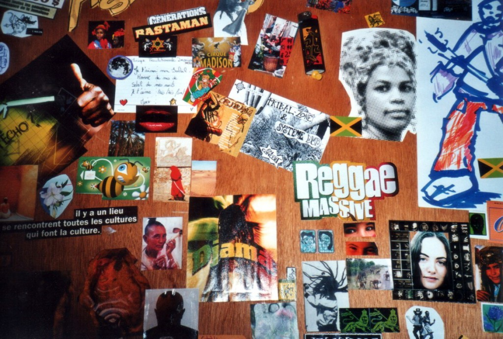 rasta collage